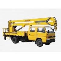 China Durable 8.1m High Lifting Platform Truck Mounted Lift With 200kg Max on sale