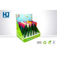 Lightweight Cardboard Pop Display Box For Colorful Flower-Shaped Pen
