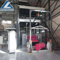 High Speed S Sigle Beam Non Woven Making Machine For shoe covers Manufactures