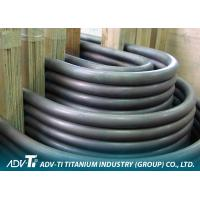 Seamless / Welded Commercial Titanium Heat Exchanger Tube Pure Alloy U Bend ASTM B338 Manufactures