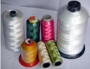 All kinds of high tenacity polyester sewing thread 150D, 210D Manufactures