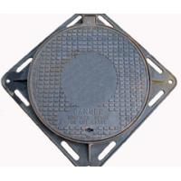 Quality ductile iron C250 square water manhole cover and frame for sale
