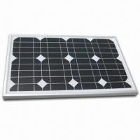 20W Photovoltaic Solar Panel with Mono Cell and Low-iron Tempered Glass Encapsulation Manufactures