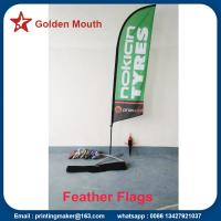 China Custom Feather Flags Banners For Outdoor Advertising on sale