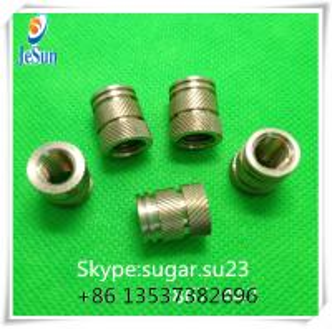 China Brass mold insert nut mold insert for plastic M2 insert M5 insert M6 insert on sale