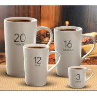 Multi Color Printed Ceramic Advertising Cups Mark Coffee Cup