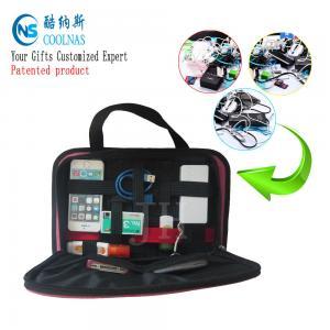Elastic GRID Gadget Organizer , Black Electronic Gadget Organizer Manufactures