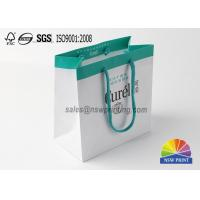 Buy cheap Fancy Custom Printed Paper Shopping Bags Cosmetic Packing Bags from wholesalers