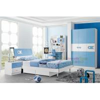Buy cheap New design Baby bed boy bed room furniture wooden single bed with drawer 118 from wholesalers