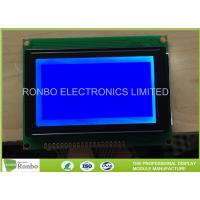 128x64 STN Blue Negative Graphic LCD Module COB Screen With 6800 Interface Manufactures