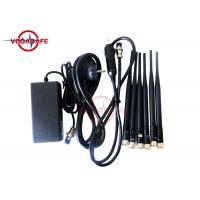 16W Fixed Indoor Mobile Phone Signal Jammer 50m Coverage Range Easy Operation Manufactures