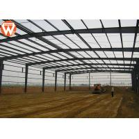 High Strength Prefabricated Steel Structure Warehouse Waterproof And Fireproof Manufactures
