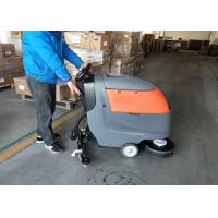 Efficiency Walk Behind Scrubber Dryer For Small And Coarse Marble Floor Manufactures