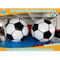 3m Diameter Giant Inflatbale Foot Ball Soccer Big Inflatable Soccer Games Manufactures
