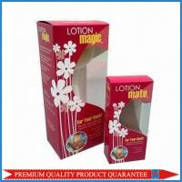 Clear Plastic Window Custom Color Offset Print Paper Packaging Box Tuck Top End Manufactures