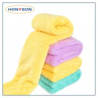 Microfiber Coral Fleece Towel Manufactures