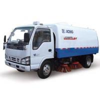Road Sweeper Truck 1000L Special Purpose Vehicles For Urban Road Water Spray Manufactures