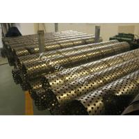 Durable Sand Control Screens Mesh For Oil & Gas Industry , Perforated Stainless Steel Pipe Manufactures