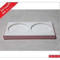 Retangular Custom Acrylic Products , Laser Printed Acrylic Drink Coasters Manufactures