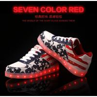 led shoes with USB Charge New Women LED Light Luminous Sneaker High Top Lovers Athletic Manufactures