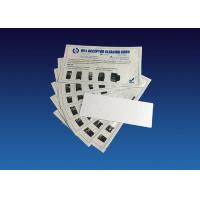 Antimicrobial Bill Acceptor Cleaner , Bill Validator Cleaning Cards Manufactures