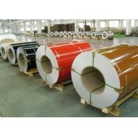 Wrinkle PPGI Steel Coils , Aluzinc Steel Coil For Roofing External Wall Manufactures