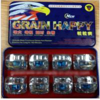 Quality Grain Happy 1800 Mg Sex Product Herbal Sex Pills for Male Enhancer for sale