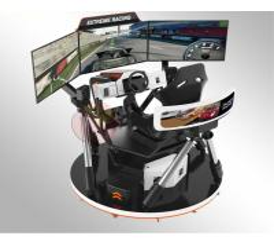 China Park Simulation Rides Vr Racing Simulator , Car Motionvr Driving Simulator on sale
