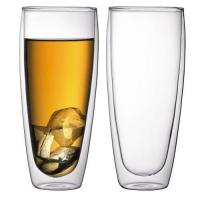 China Borosilicate Double Wall Glass Cup on sale