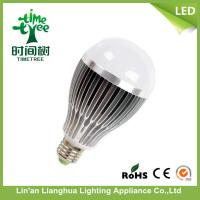 Silver / Golden Aluminum Alloy Energy Saving LED Light Bulbs E14 , E26 CRI > 75 Ra Manufactures