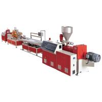 Complete PVC Windows / Door Frame Making Machine WPC Profile Production Line Manufactures