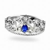 925 Silver Gemstone Jewelry with Fashionable and Elegant Design Manufactures