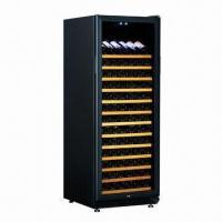 Constant Temperature and Humidity Wine Cooler with Free-standing Installation and Wooden Shelves Manufactures