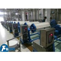 High Pressure 	Round Plate Filter Press For Sludge Dewatering Filtration Manufactures