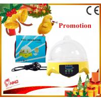China Hot Smallest CE approved automatic 7 eggs commercial quail egg incubator for sale on sale