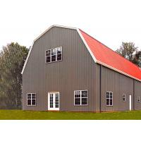 High Rise Corrosion Protection Metal Frame Storage Building Agricultural Storage Barn Manufactures