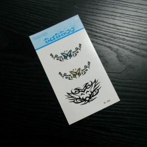 Temporary fake tattoo sticker, body skin transfer sticker Manufactures