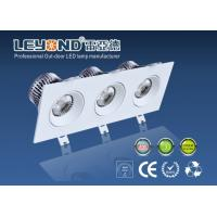 High Power 3 Heads Square Downlight Led Dimmable Down Lighting 5000k Manufactures