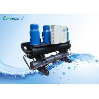 Air Conditioner Water Cooled Scroll Chiller Plate Type Water To Water Chiller Manufactures