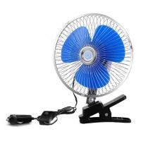 Buy cheap 12V/24V Car Cooling Fan One Year Warranty With Half Safety Metal Guard from wholesalers