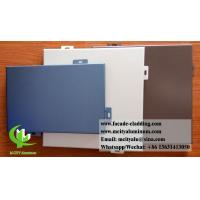 Customized Aluminium Wall Cladding Panels For Building Facade Powder Coated Manufactures