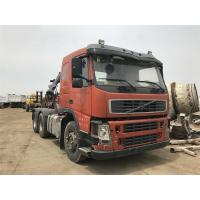 FH12 FM12 Volvo Used Truck Crane , Original From Japan Truck Head With Cheap Price Manufactures