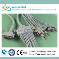 One-piece Philips M1770A EKG Cable with 10 leads Manufactures