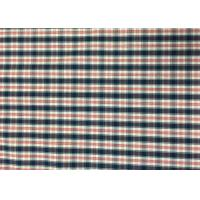 Plaid Awning / Bedding / Curtain Custom Printed Fabrics 110-130gsm Manufactures