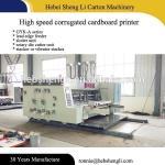Efficient Flexo Box Machine 1 Year Warranty Manufactures