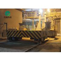 Cable Powered Flat Bed Factory Explosion Proof Cast Iron Transfer Carts Mounted On Rail Manufactures
