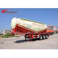 China Air Discharge Carrying Dry Bulk Cement Trailers , Durable Cement Tanker Truck on sale
