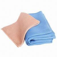 Microfiber Big Waffle Cloth for Kitchen Cleaning, Various Colors are Available Manufactures