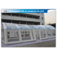 China Outside Large Inflatable Party Tent for Wedding Tent Decorations White / Transparent / Customized on sale