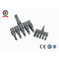 M / FM Solar Panel 5 in 1 T Branch Connector  for Solar Power Plant Manufactures